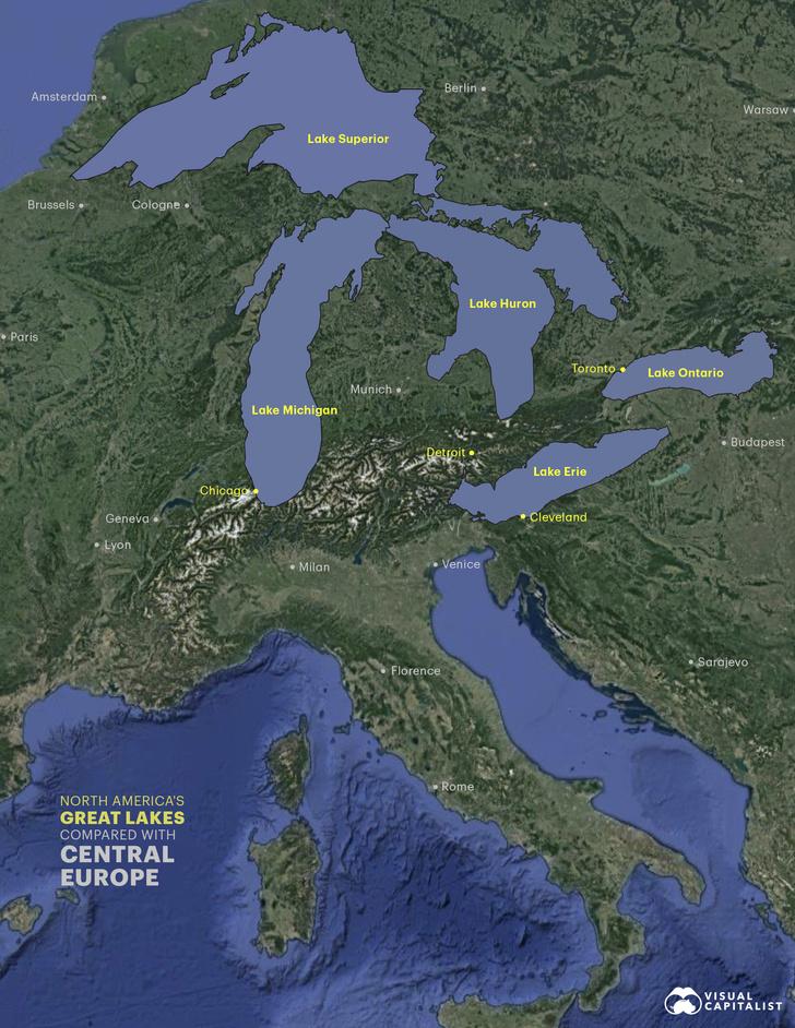 Фото №3 - Инфографика: 25 крупнейших озер