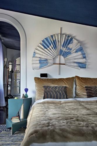 Фото №2 - Богемная квартира галеристки Нины Яшар в Милане