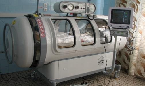 Фото №1 - В Детской городской больнице № 5 смогут работать сразу три барокамеры