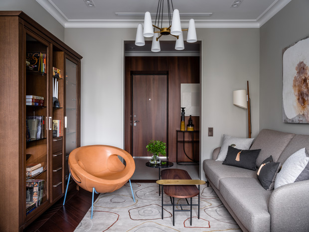 Фото №8 - Интерьер месяца: анфиладная квартира в сталинке 60 м²
