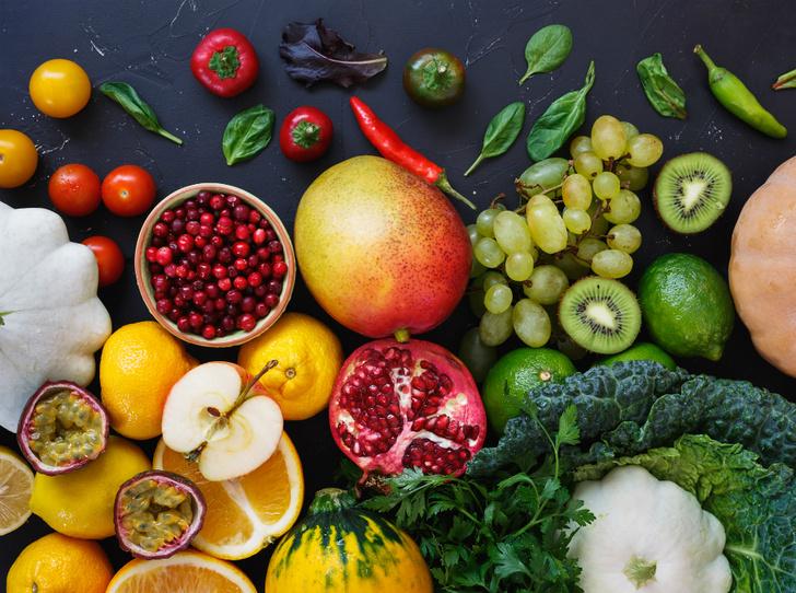 Фото №1 - Что такое радужная диета, или Зачем нужно обращать внимание на цвет продуктов