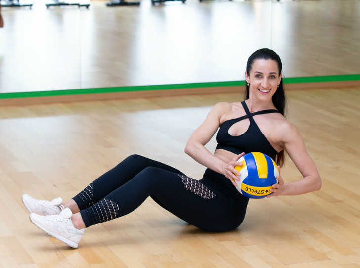 Фото №14 - Солнечная активность: обзор лучших фитнес-упражнений для пляжа