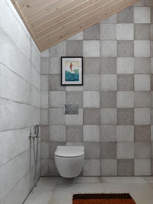 Фото №17 - Современный интерьер в деревянном доме в Подмосковье