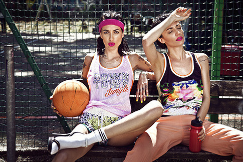 Рекламная кампания Downtown Jungle, Patrizia Pepe