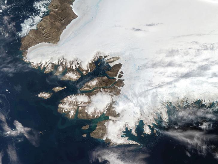 Фото №1 - Ледники Гренландии подошли к «точке невозврата»