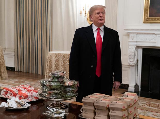 Фото №4 - Как президент Трамп пошутил над диетой жены (но заставил всех смеяться над собой)