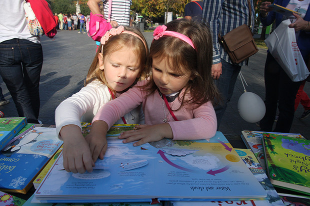 Фото №1 - В Москве состоялся Английский Детский Фестиваль