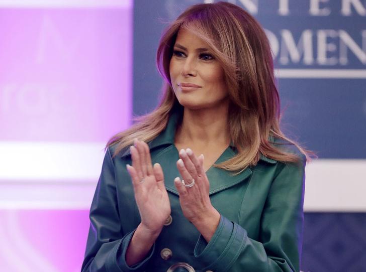 Фото №1 - 5 ложек дегтя: почему стиль Мелании Трамп не так хорош, как кажется