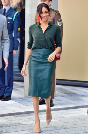 Фото №11 - Бунтарки: как королевские особы носят кожаные вещи