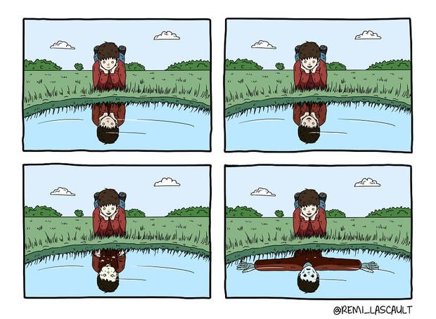 Фото №1 - 19 комиксов для ценителей черного юмора от французского художника
