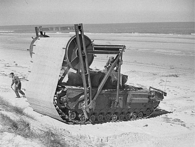 Фото №6 - «Они утонули…»: чудо-танки союзников для высадки в Нормандии