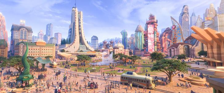 Фото №1 - Где-то мы это уже видели: 7 фантастических миров из кино и мультфильмов с реальными прототипами