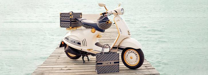 Фото №3 - Скутер haute couture: коллаборация Vespa и Dior