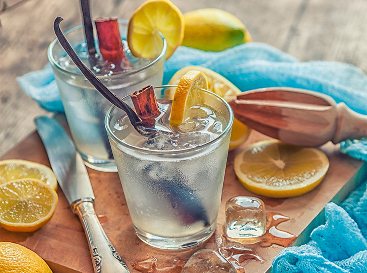 Фото №1 - Два рецепта освежающего лимонада на основе чая
