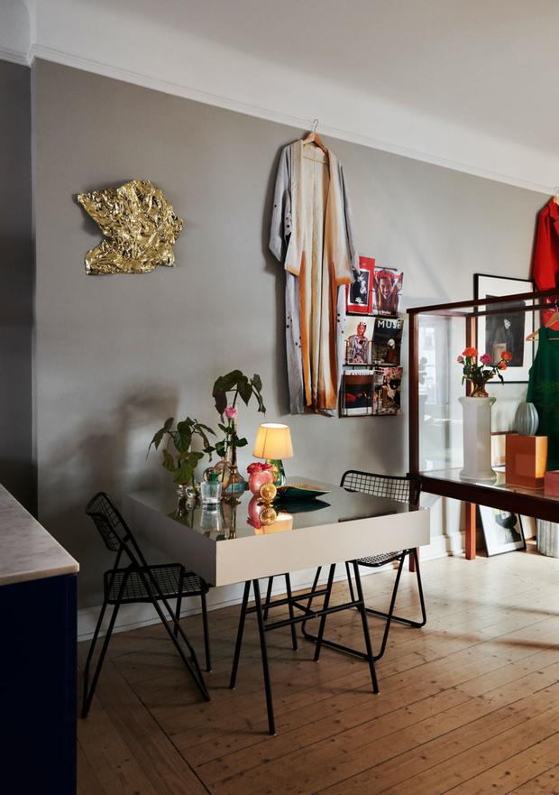 Фото №3 - Квартира с винтажной мебелью в Стокгольме