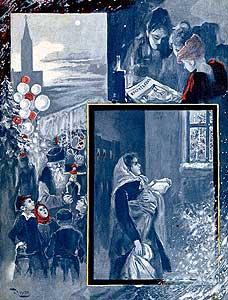 Фото №1 - Ночь с елкой: как праздновали Новый год в начале XX века