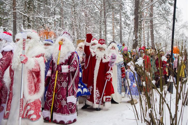 Фото №2 - В Кузбассе выбирают лучшего Деда Мороза