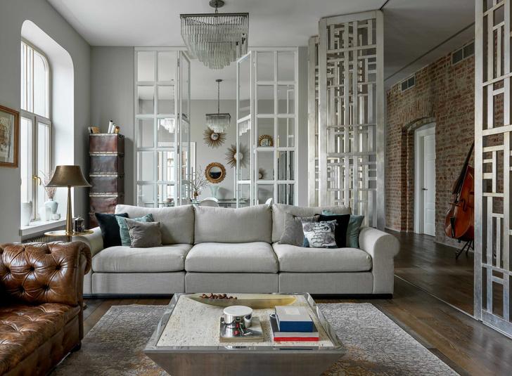 Фото №7 - Винтаж и современность: элегантная квартира на Патриарших прудах 300 м²