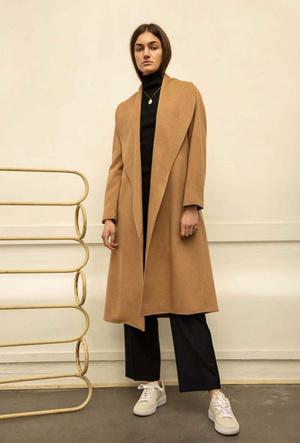 Фото №5 - Главная покупка сезона: где искать классическое бежевое пальто, как у Меган