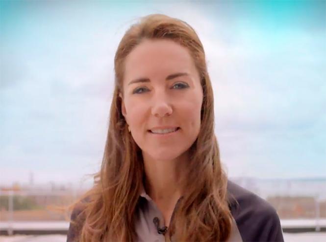 Фото №1 - Герцогиня Кембриджская появилась на видео Team GB почти без макияжа