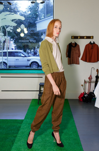 Фото №4 - CARAMEL презентовал первую женскую коллекцию в Москве