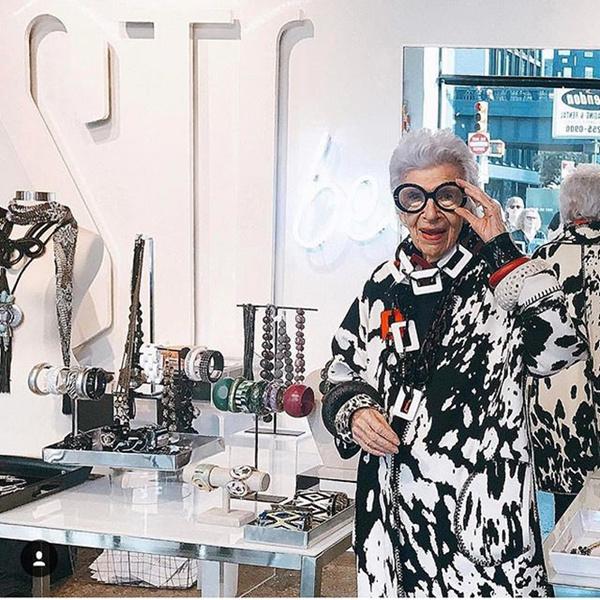 Фото №9 - Истории великолепной Айрис Апфель: о жизни, моде и любви длиною в жизнь