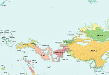 Как будет выглядеть карта мира, если уровень воды поднимется и опустится на 1000 метров