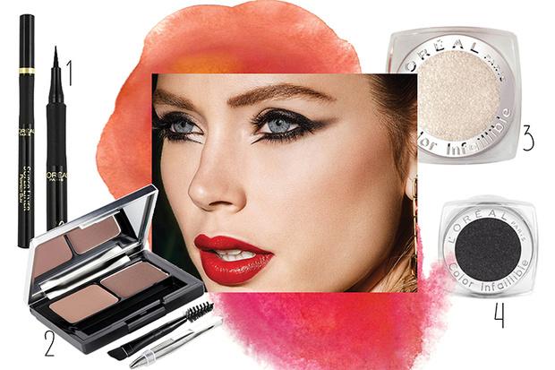 Фото №2 - 3 идеи новогоднего макияжа