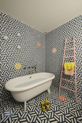 Фото №12 - Парижская квартира для творческой пары с двумя детьми