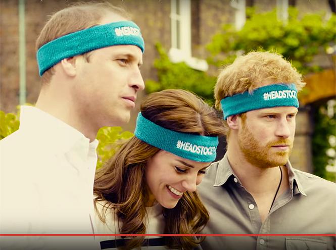 Фото №3 - Новое забавное видео Кейт Миддлтон с принцем Уильямом и принцем Гарри