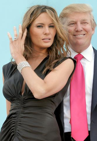 Фото №3 - Ложная скромность: Дональд Трамп солгал о стоимости обручального кольца Мелании
