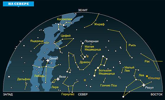 Фото №1 - Ночное небо: на что посмотреть в декабре — январе