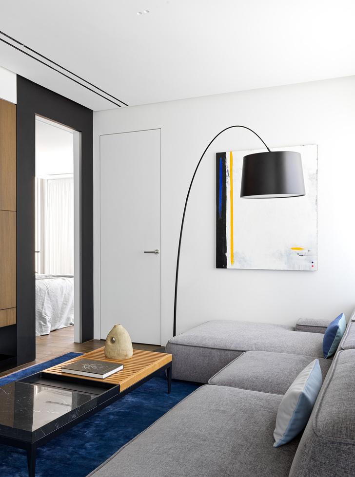 Фото №7 - Яркий минимализм: квартира 60 м² в Москве