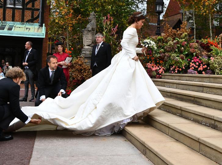 Фото №53 - Свадьба принцессы Евгении и Джека Бруксбэнка