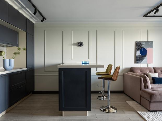 Фото №2 - Квартира в зеленых тонах для жизни за городом