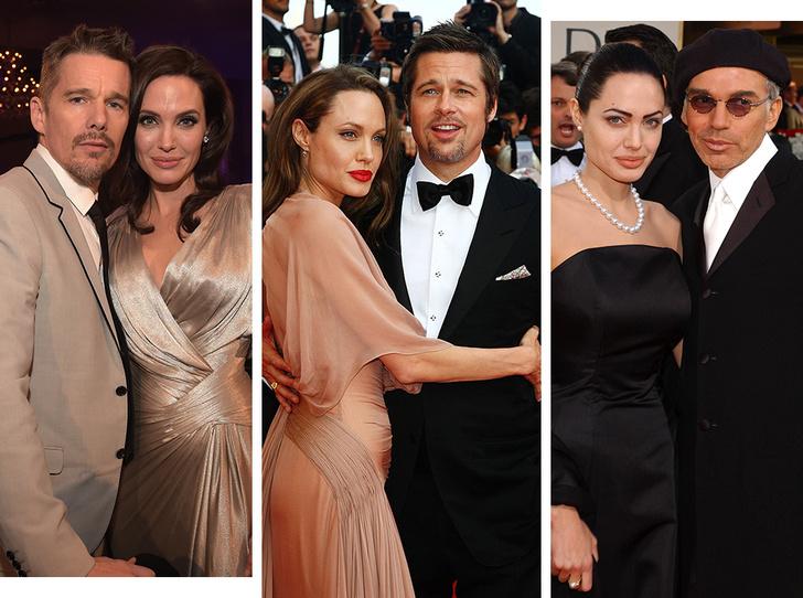 Фото №1 - Любимые мужчины и женщины Анджелины Джоли: 9 главных романов актрисы