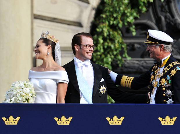 Фото №37 - Самые забавные моменты на королевских свадьбах (истории в фотографиях)