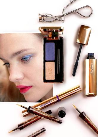 Фото №2 - Звезда Востока: Рождественская make-up коллекция Натальи Водяновой для Guerlain