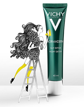 Normaderm Nuit Detox, Vichy