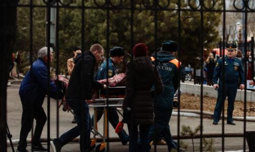Фото №1 - Медиков наградят. Стало известно, как проходила операция в охваченной огнем клинике в Благовещенске