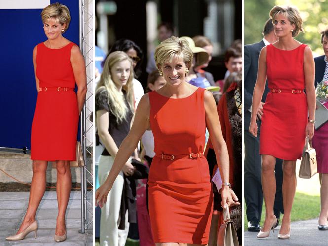 Фото №21 - 60 красных нарядов: как принцесса Диана носила любимый цвет