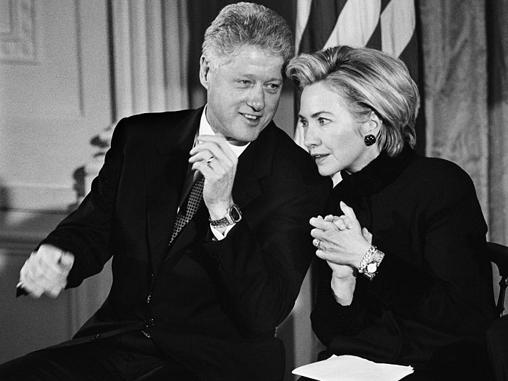 Фото №8 - Внутри скандала с Моникой Левински: что происходило в Белом доме накануне импичмента Билла Клинтона