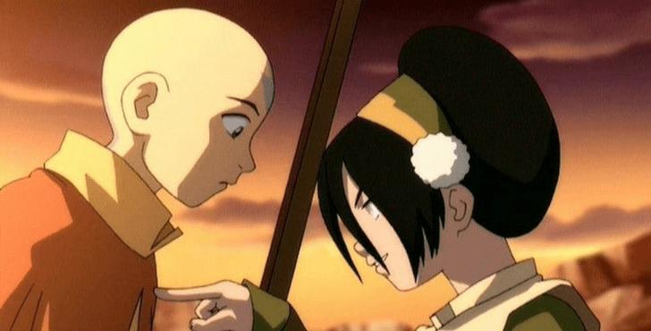 Фото №2 - Топ фанатских пар в «Аватаре: Легенде об Аанге», которым не суждено сбыться 💔