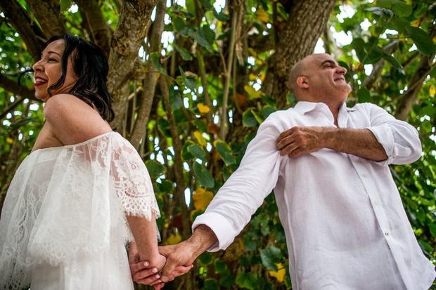 Фото №1 - Терпение и труд все перетрут: 36 лет френдзоны кончились свадьбой