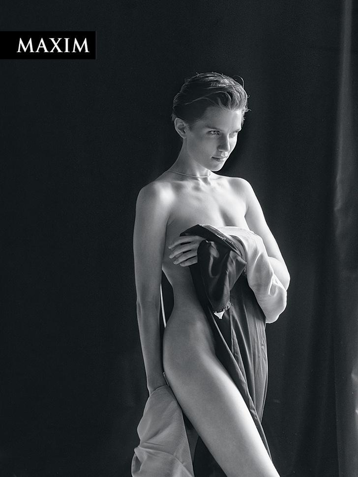 Фото №4 - Дома без папы: фотосессия актрисы Дарьи Мельниковой