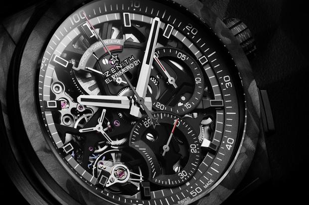Фото №2 - Новый шедевр: часы Zenith DEFY El Primero 21 Carbon