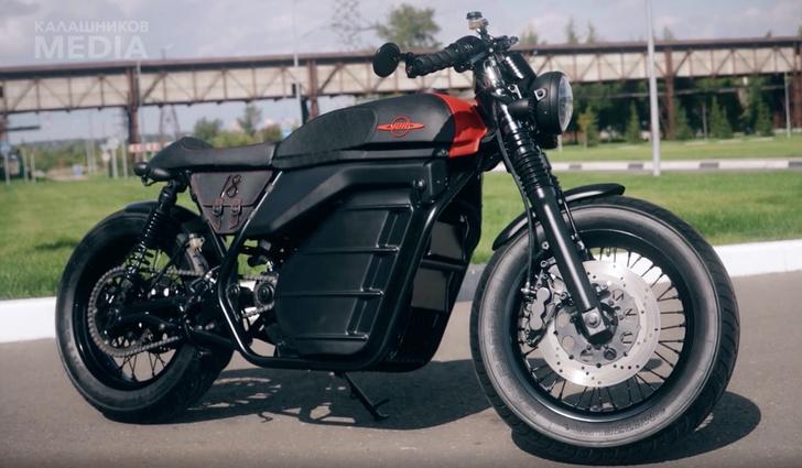 Фото №1 - «Калашников» представил концепт электромотоцикла (видео)