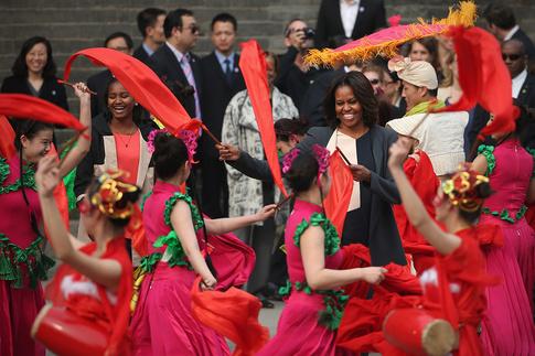 Мишель Обама (Michelle Obama), Китай