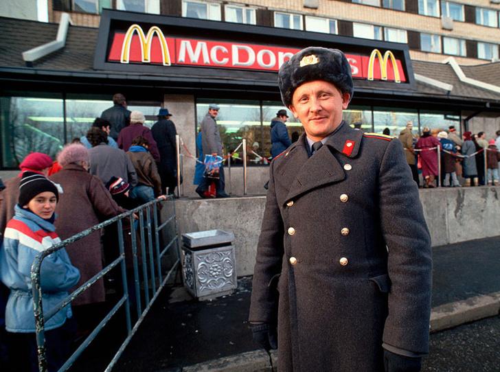 Фото №2 - 30 лет вместе: как «Макдоналдс» отметил свой юбилей
