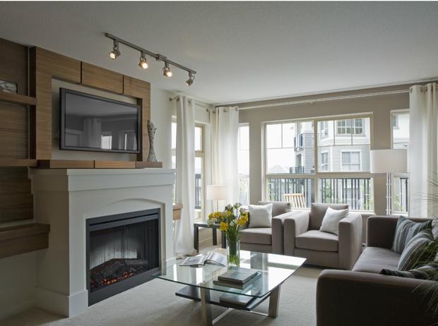 Фото №3 - Максимальный уют: как оформить камин в квартире